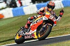 MotoGP - Marquez: Wahnwitziger Sieg zum 50. Jubiläum