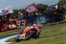 MotoGP - 58. Pole: Marquez jagt Allzeitrekord von Rossi