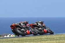 Aprilia vor Australien-GP auf Phillip Island: Wieder Top-10 im Blick