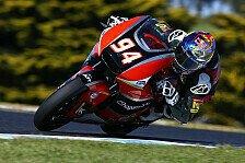 Moto2 - Folger im ersten Freien Training ganz vorn