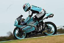 Moto3 - Crash von Kent im 2. Training