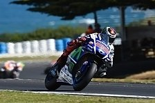 MotoGP - Lorenzo im 2. Training mit knappem Vorsprung