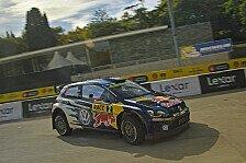 WRC - Volkswagen in Spanien auf 1, 3 und 7