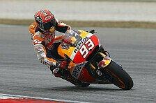 MotoGP - Marquez im Qualifying von Pedrosa geschlagen
