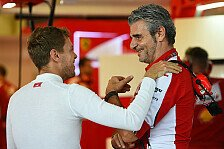 Formel 1 - Ferrari will 2016 nichts ändern