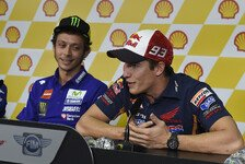 MotoGP - Krieg Rossi vs. Marquez: Das sagen die Streithähne