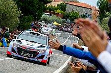 WRC - Neuville: Angriff auf Platz sechs