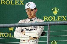 Formel 1 - Rosberg: Manchmal muss das einfach raus