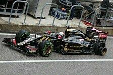 Formel 1 - Lotus: Maldonado punktet, Grosjean scheidet aus