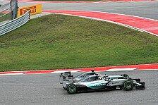 Formel 1 - Kurve 1 in Austin: Ist Hamilton gegen Rosberg zu weit gegangen?