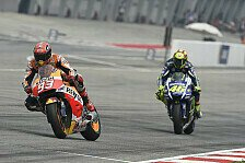MotoGP-Testfahrten: Marc Marquez reagiert auf Valentino Rossis Täuschungsvorwurf