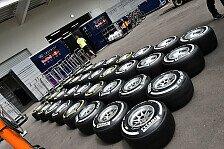 Formel 1 - Bilderserie: Pirellis Jahr in Zahlen