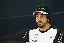 Formel 1 - Alonso: Viele Probleme sind schnell lösbar