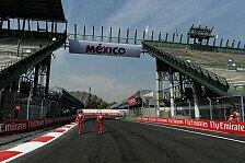 Formel 1 - Fahrer schwärmen von neuer Strecke in Mexiko