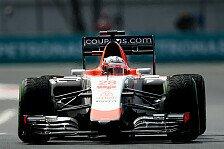 Formel 1 - Stevens vor Verlängerung bei Manor