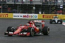 Formel 1 - Longrun-Analyse: Enge Spitze in Mexiko