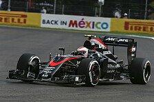 Formel 1 - McLaren-Honda chancenlos im Kampf um Punkte