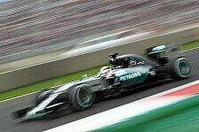 Formel 1 - Hamilton schrammt an Jubiläums-Pole vorbei