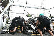 Formel 1 - Boxenstopp-Ärger bei Mercedes nervt beide Fahrer