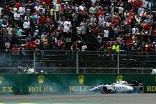 Formel 1 - Rutschen und quietschen: Williams kämpft in Mexiko