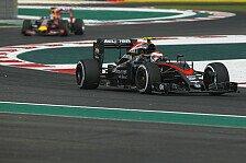 Formel 1 - McLaren: Höherer Reifenverschleiß als erwartet