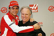 Formel 1 - Bilder: Esteban Gutierrez Haas F1 Präsentation