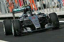 Formel 1 - Rosberg macht im Mexiko-Qualifying die 20 voll