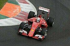 Formel 1 - Vettel trotz Risiko-Run hinter Mercedes auf P3
