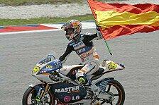MotoGP - Australien, Sonntag, 125cc: Bautista ist Weltmeister