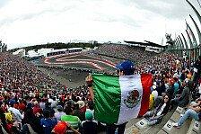 Formel 1 - Mexiko GP: Die Infos zum Renn-Sonntag