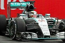 Formel 1 - Hamilton muss sich Rosberg geschlagen geben