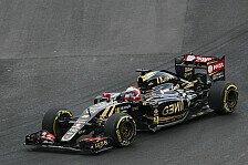 Formel 1 - Lotus: Ein Trostpunkt für Grosjean in Mexiko