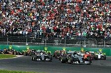 Formel 1 - Topspeeds: Maldonado fliegt - Mercedes lahmt