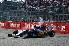 Formel 1 - Sauber: Bremsprobleme führten zu Nasr-Aus