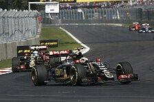 Formel 1 - Lotus: Kein Zutritt zu den Boxen