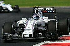 Formel 1 - Bottas: War überrascht von Massas Leistung