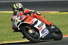 MotoGP - Iannone im dritten Training mit Husarenritt