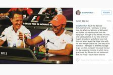 Formel 1 - Hamilton stellt klar: Würde Schumi nie beleidigen