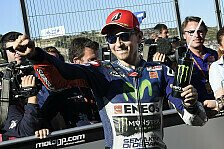 MotoGP - Live-Ticker: Valencia-Showdown Rossi vs. Lorenzo