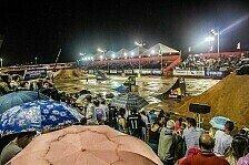 NIGHT of the JUMPs - NIGHT of the JUMPs Brasilien fällt Regen zum Opfer