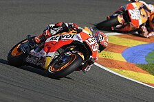 MotoGP - MotoGP-Test: Marquez vorn, viele Stürze an Tag 1