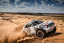 Dakar - MINI mit Star-Aufgebot für die Dakar 2016