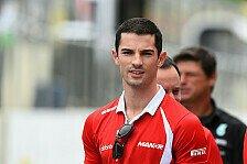 Formel 1 - Manor verpflichtet Rossi als Reservefahrer