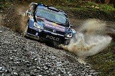 WRC - Zwei Polo im Shakedown vorn