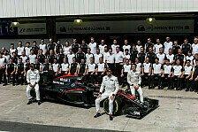 Formel 1 - Button: McLaren erwartet langer, harter Winter