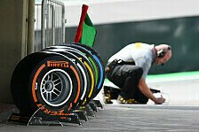Formel 1 - Pirelli will 2016 mehr Reifenabbau
