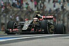 Formel 1 - Lotus: Verzögerung bei Container-Anlieferung