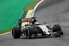 Formel 1 - Hülkenberg schlägt Perez deutlich