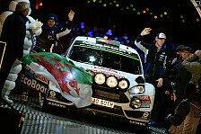 WRC - Evans für M-Sport in der WRC2 am Start