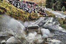 Schlammcatchen in Wales: Die kuriosesten Szenen der Rallye Großbritannien